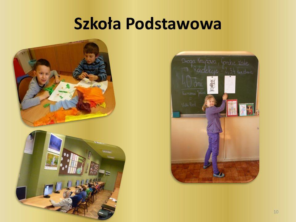 W szkole podstawowej kształcimy uczniów niepełnosprawnych intelektualnie w stopniu lekkim, umiarkowanym i znacznym.