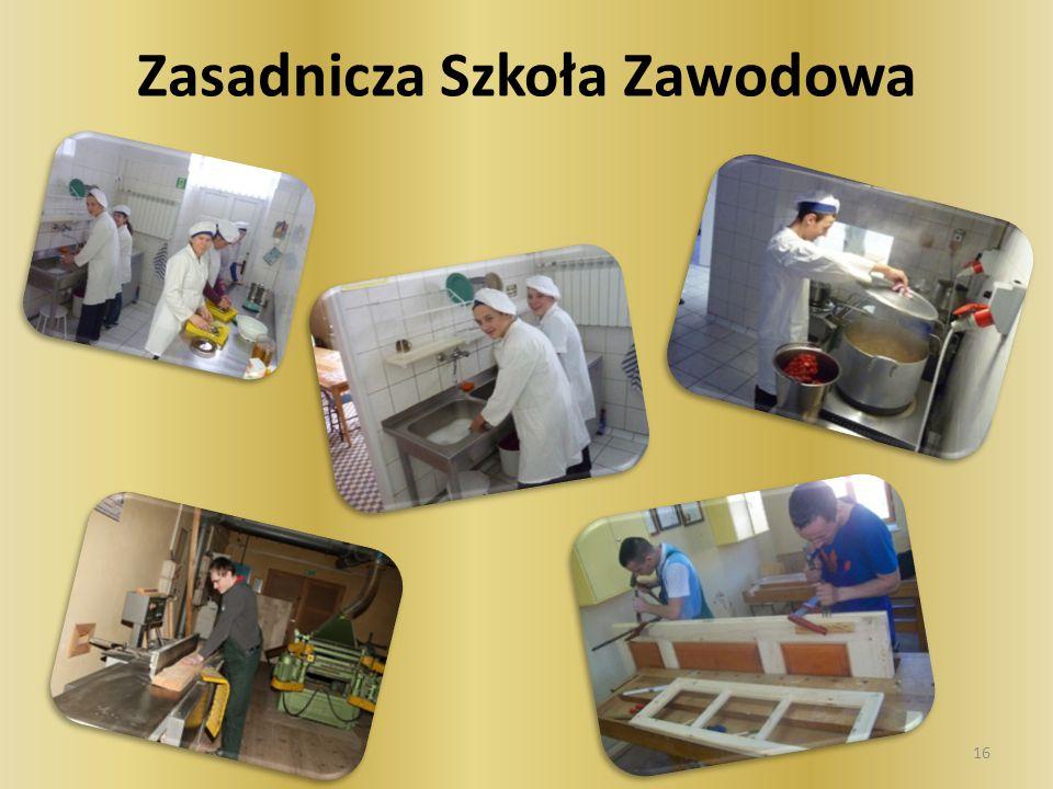 Kucharz Podczas ćwiczeń stosowane są różnorodne metody pracy – podział: pokaz z objaśnieniem, z instruktarzem, ćwiczenia przedmiotowe.