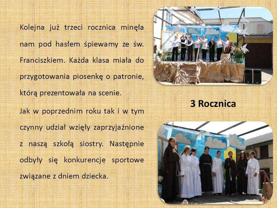 W dniu 1 czerwca 2012 r.obchodziliśmy już czwartą rocznice nadania szkole patrona.
