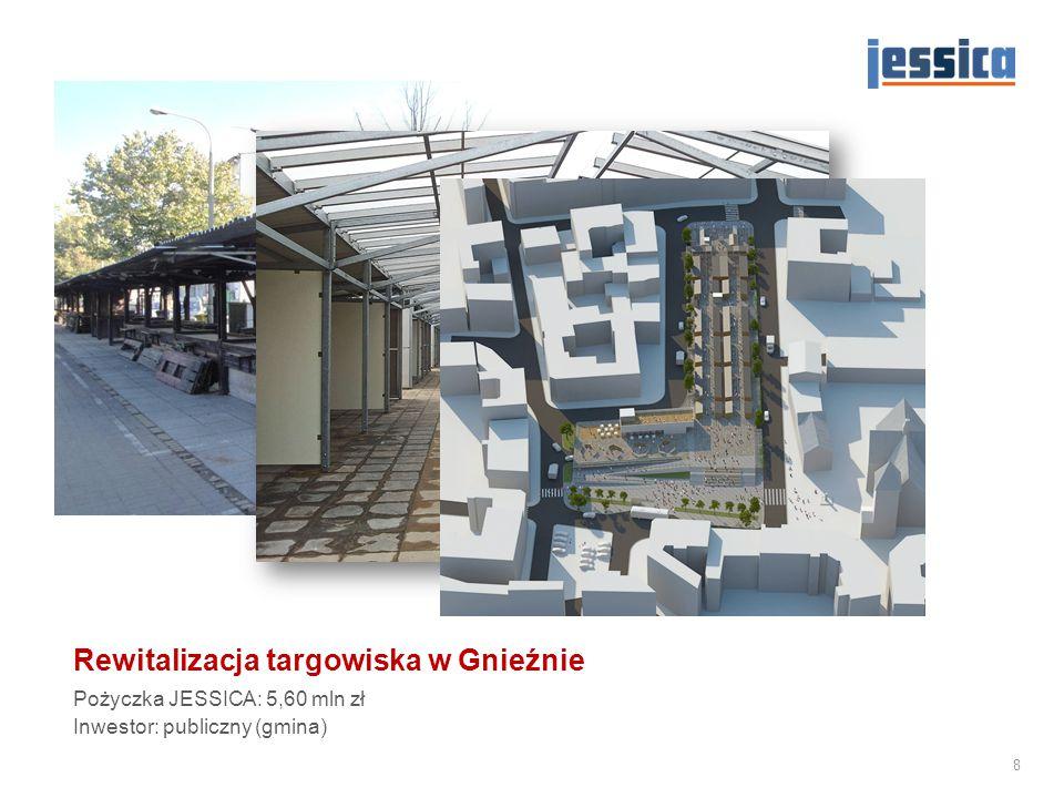 Utworzenie Muzeum Emigracji w budynku dawnego Dworca Morskiego w Gdyni Pożyczka JESSICA: 23,77 mln zł Inwestor: publiczny (gmina) 9