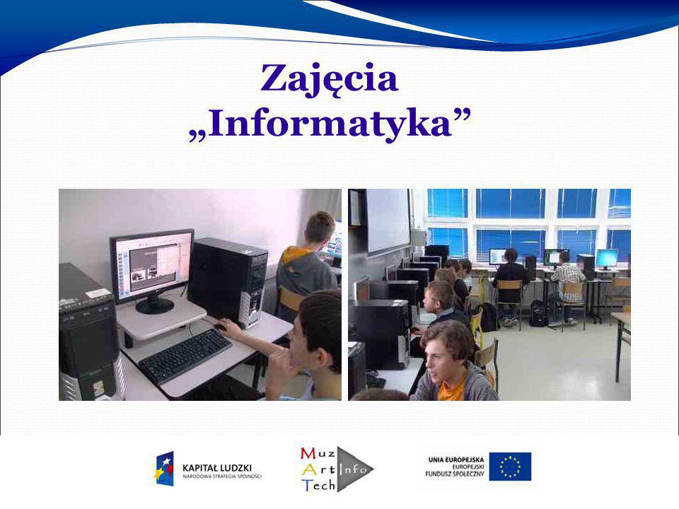 """Zajęcia """"Informatyka"""""""