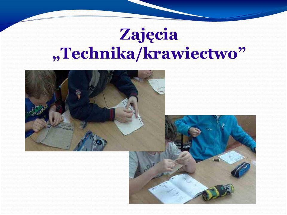"""Zajęcia """"Technika/krawiectwo"""""""