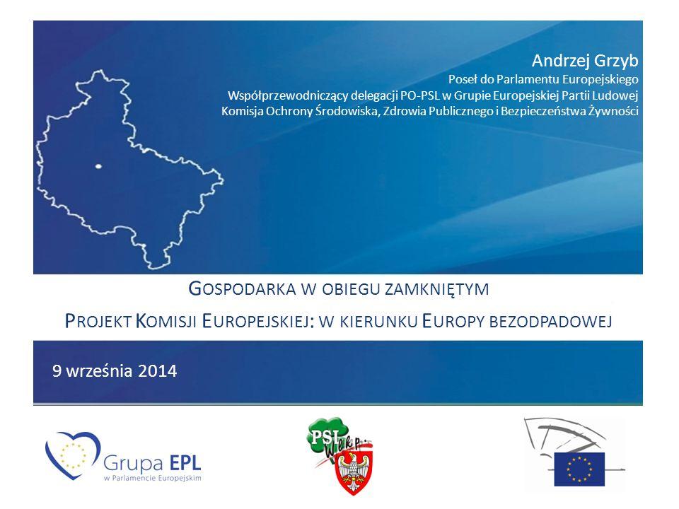 Priorytety prac w komisji ochrony środowiska (ENVI) na początku obecnej kadencji Parlamentu Europejskiego: pakiet czystego powietrza (sprawozdawca do dyrektywy o redukcji emisji ze średnich obiektów spalania) reforma systemu handlu emisjami CO2 (ETS) biopaliwa – ILUC energia – w tym gaz ze źródeł alternatywnych (np.