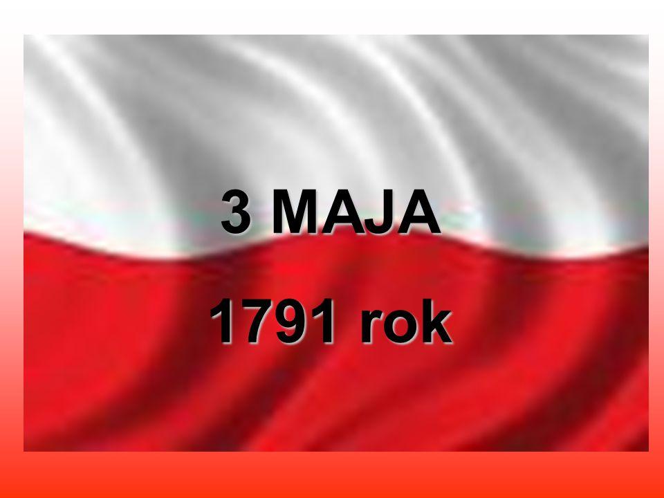 3 MAJA 1791 rok