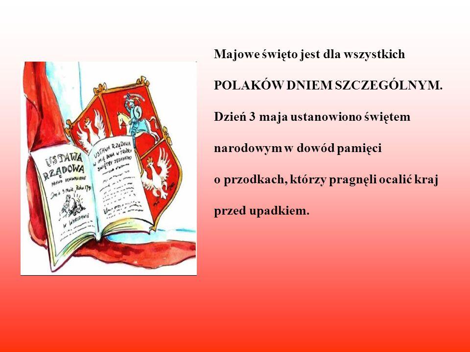 Po dramacie rozbioru w oświeconych warstwach narodu dojrzało przekonanie, że ratunkiem dla suwerenności państwa polskiego może być tylko jego zasadnicza reforma.