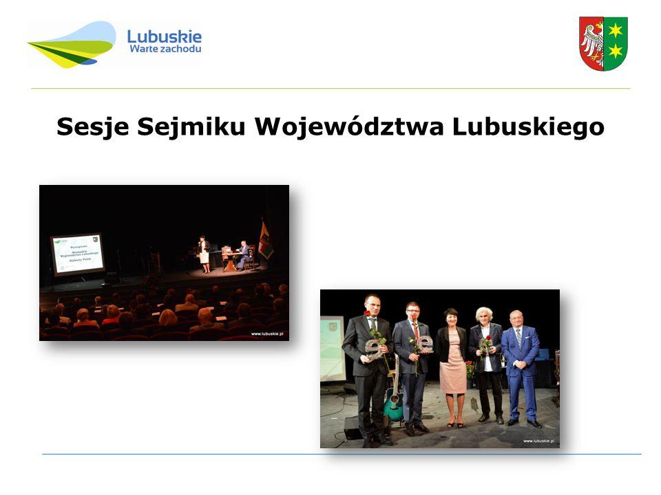 Sesje Sejmiku Województwa Lubuskiego