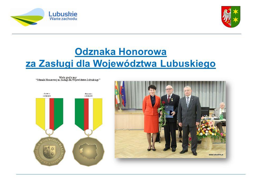 Odznaka Honorowa za Zasługi dla Województwa Lubuskiego