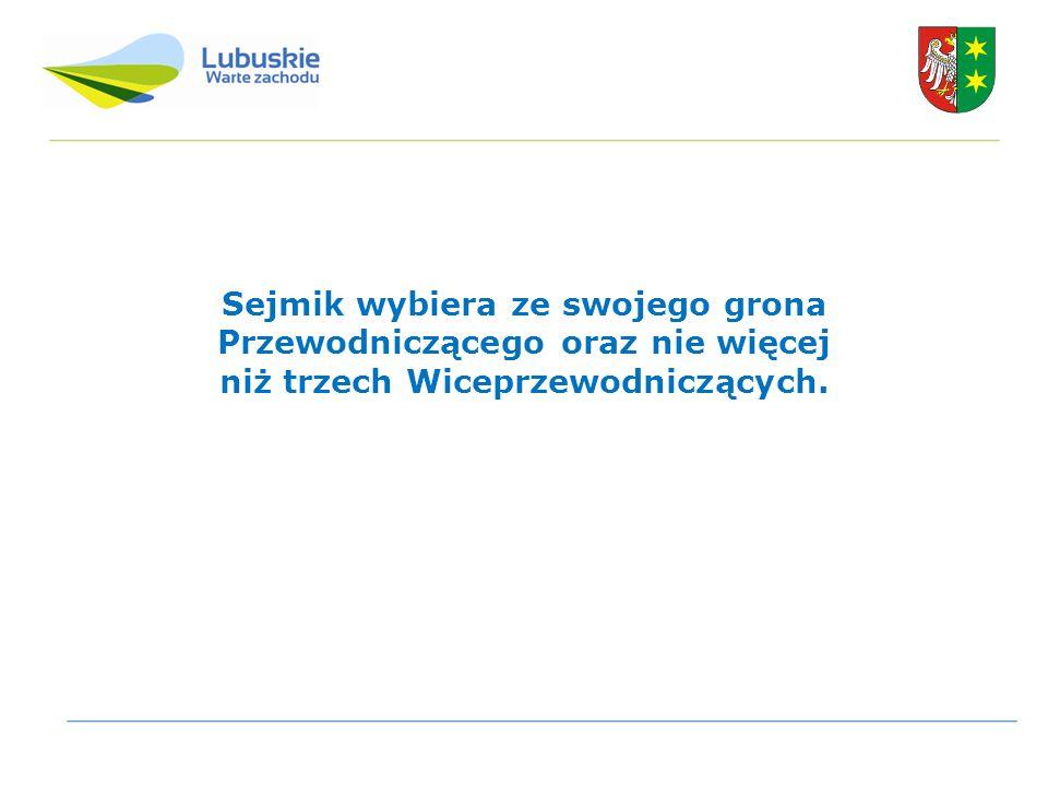Dziękuję za uwagę Przewodniczący Sejmiku Województwa Lubuskiego Tomasz Możejko