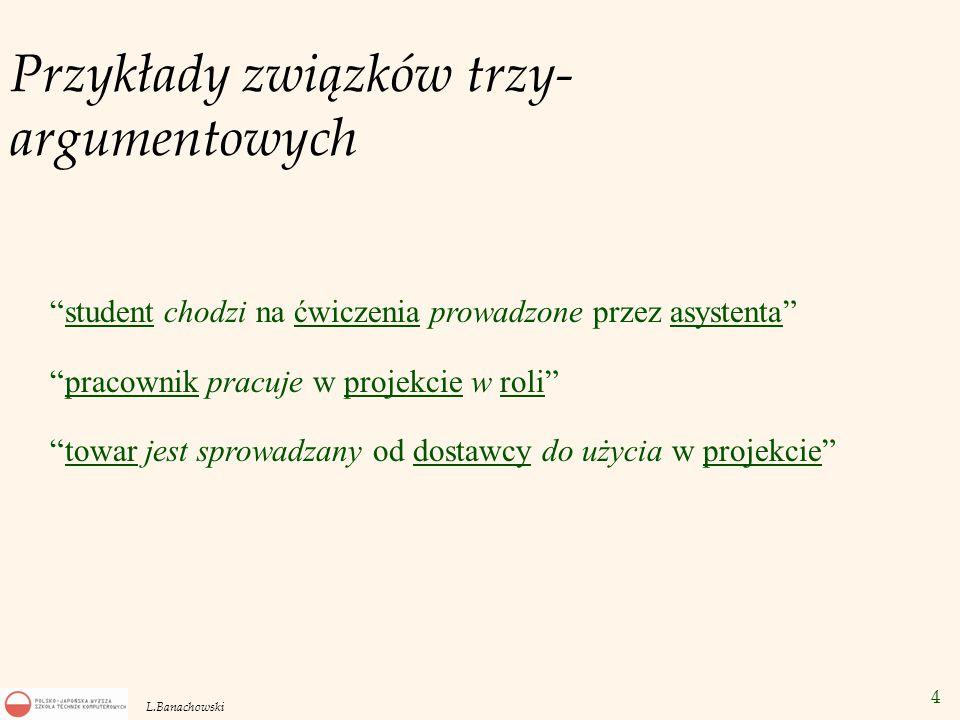 35 L.Banachowski Przykłady 1.