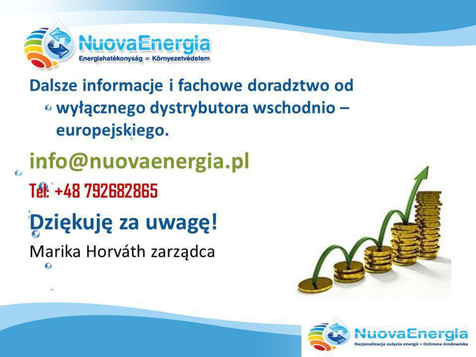 Dalsze informacje i fachowe doradztwo od wyłącznego dystrybutora wschodnio – europejskiego.