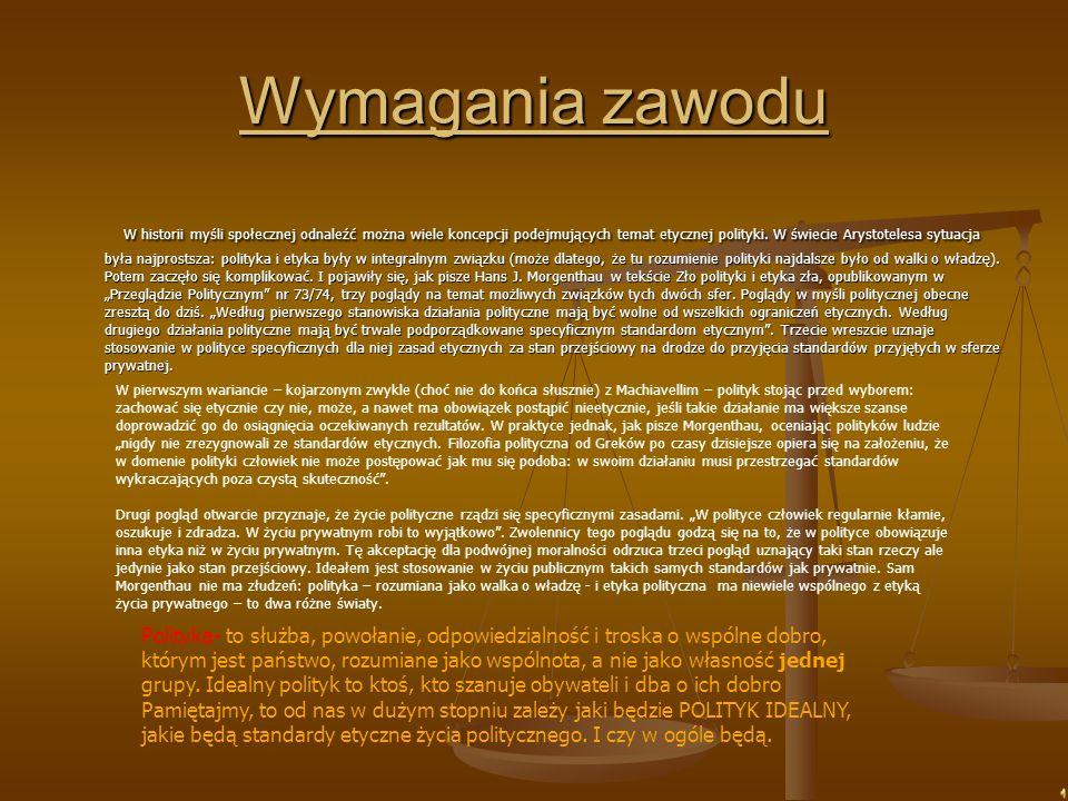 Zadania i czynności polityka Posłem może być każdy obywatel, który ma pełne prawo wyborcze, jest obywatelem polskim i ukończył 21 lat.
