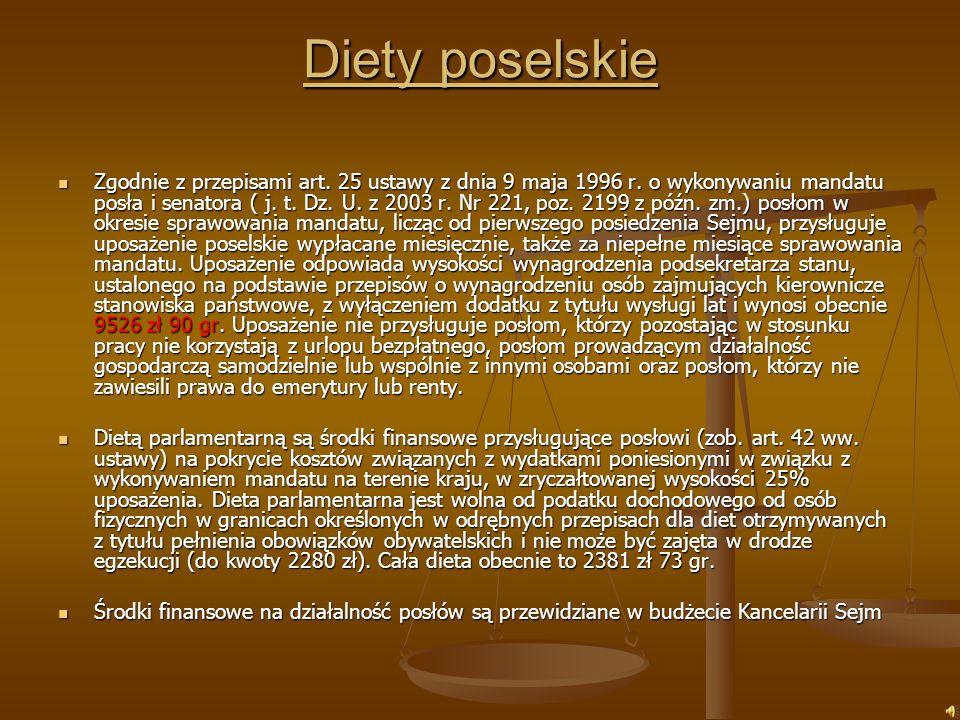 Kim jest poseł w świetle prawa Poseł na sejm — pol.