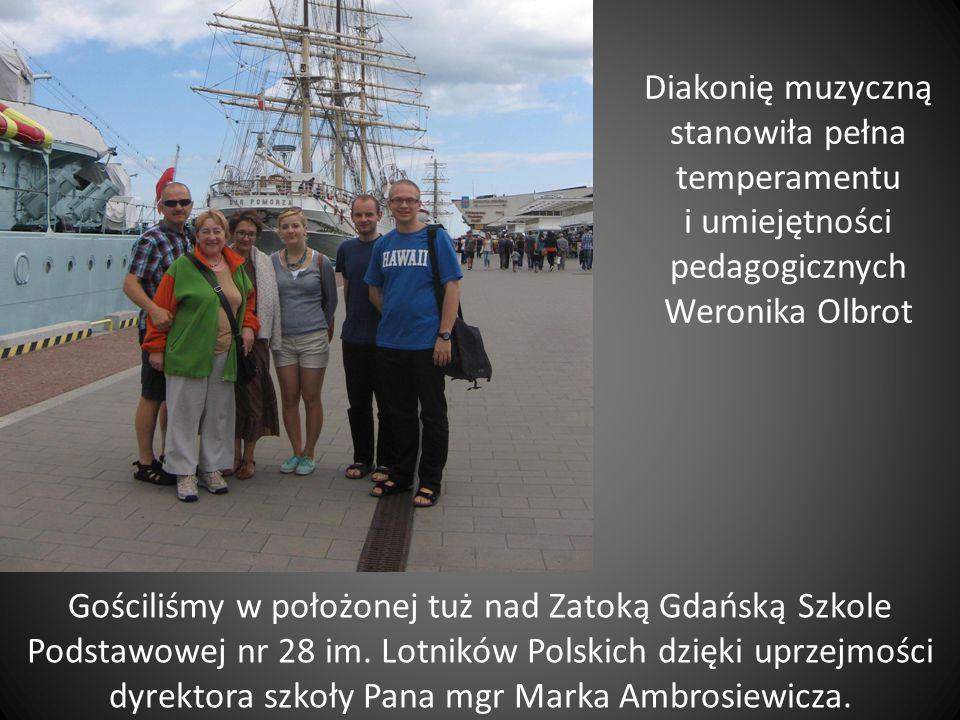 Gościliśmy w położonej tuż nad Zatoką Gdańską Szkole Podstawowej nr 28 im.