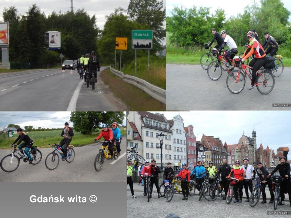 w dalszą drogę czas wyruszyć, chociaż nie zawsze rowerami ;)