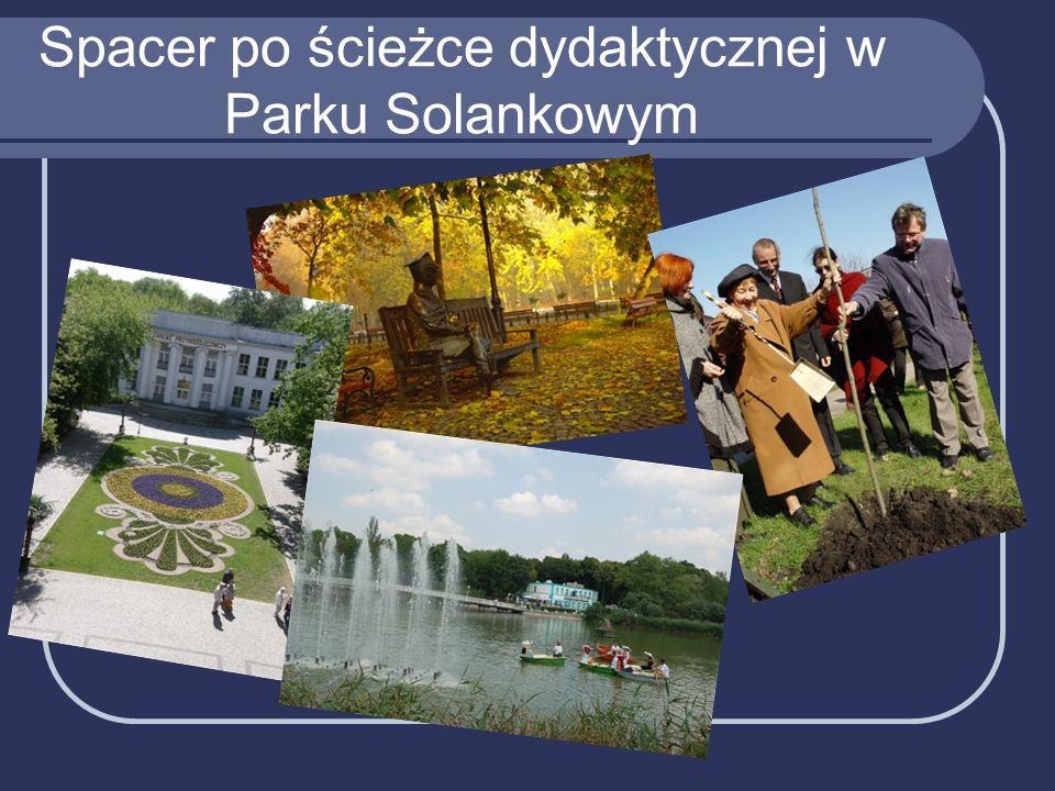 Spacer po ścieżce dydaktycznej w Parku Solankowym
