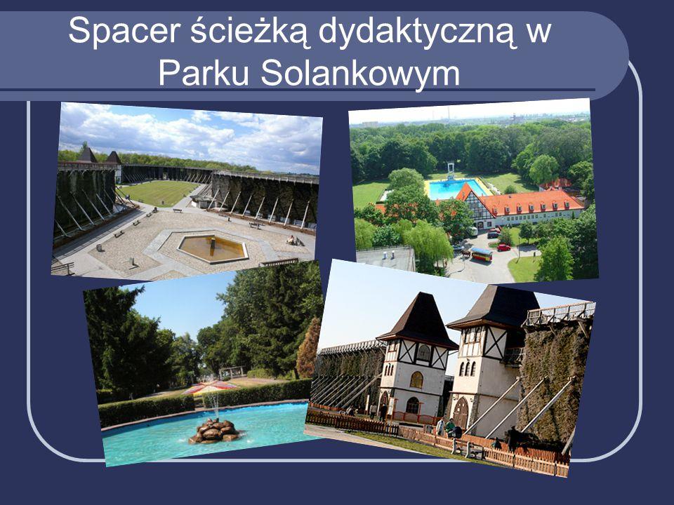 Spacer ścieżką dydaktyczną w Parku Solankowym