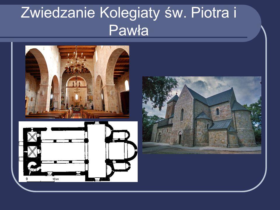 Zwiedzanie Kolegiaty św. Piotra i Pawła