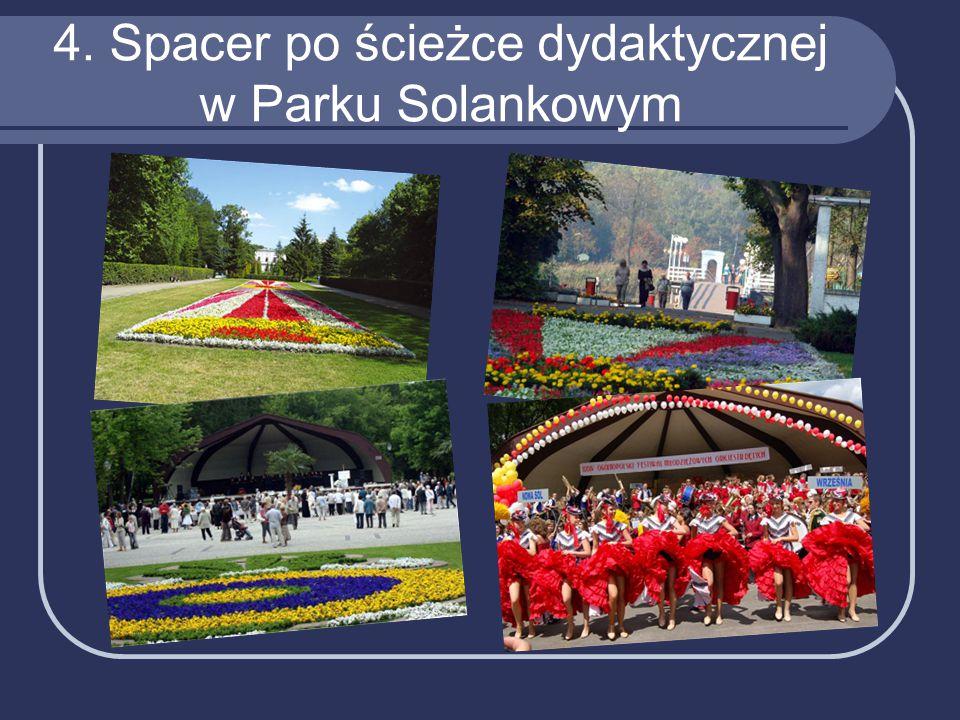 4. Spacer po ścieżce dydaktycznej w Parku Solankowym