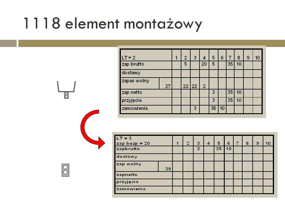 1118 element montażowy