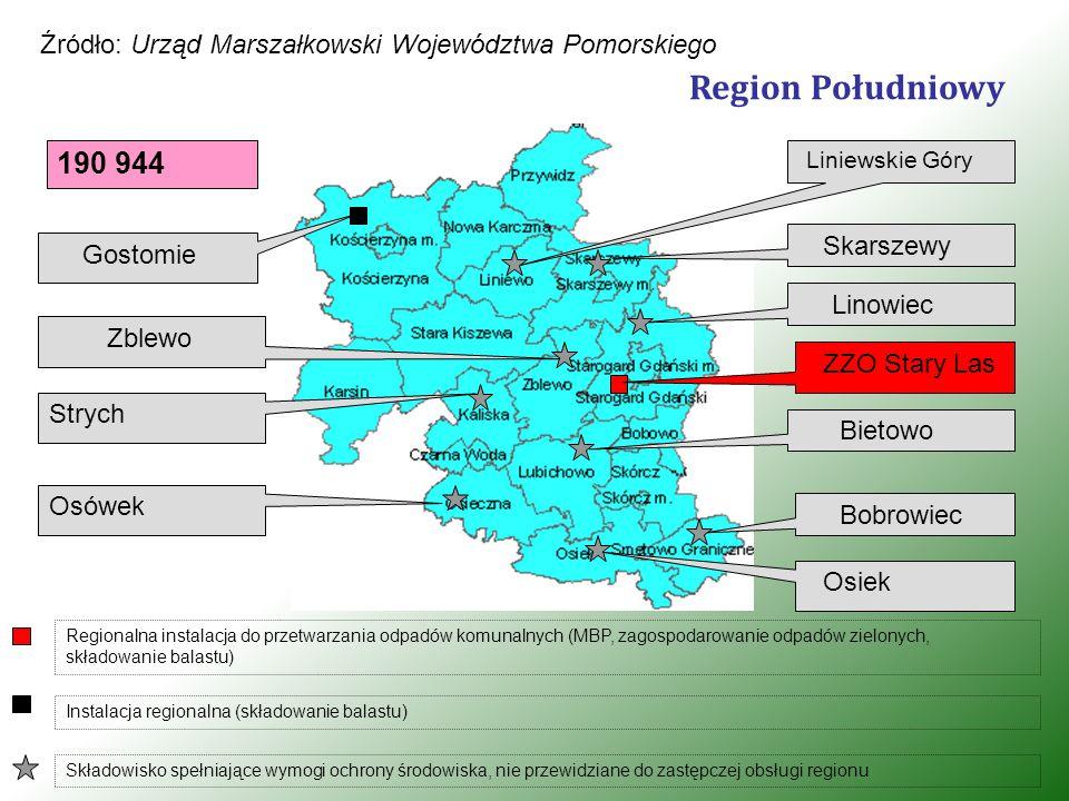 """Zakład Utylizacji Odpadów Komunalnych """"Stary Las Sp."""