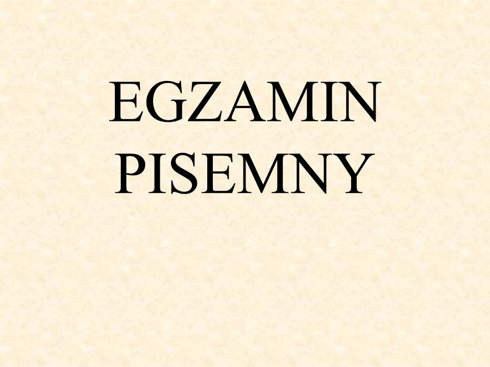 Rozkłady średnich wyników [%] - język polski pisemny (poziom podstawowy) zdało: 98/125 69/84 53/57 62/64 72/76 87/88 74/74 84/86 78% 82% 93% 97% 95% 99% 100% 98%