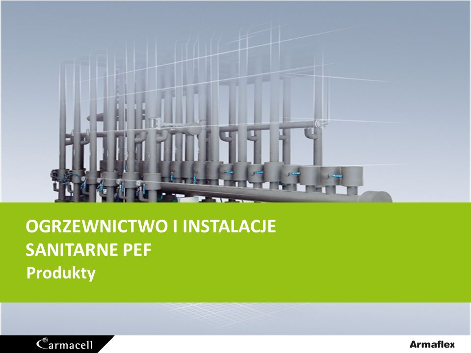Ogrzewnictwo i Instalacje Sanitarne Produkty PEF Tubolit 2