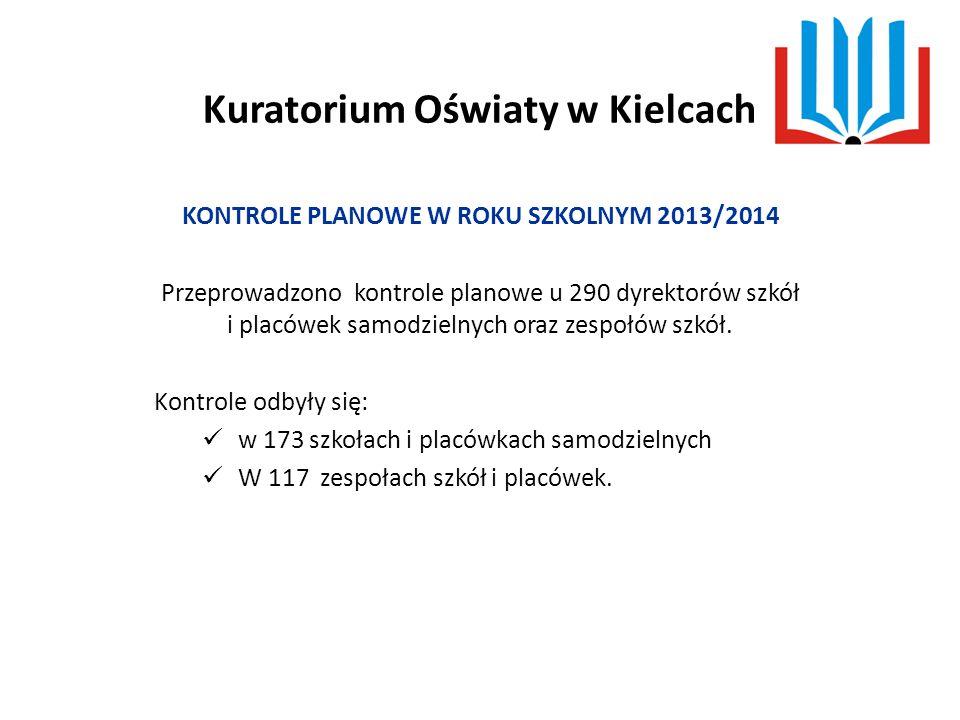 Kuratorium Oświaty w Kielcach  Wnikliwie kontrolować dzienniki zajęć świetlicy ze szczególnym uwzględnieniem zapisów dotyczących obecności uczniów na zajęciach.
