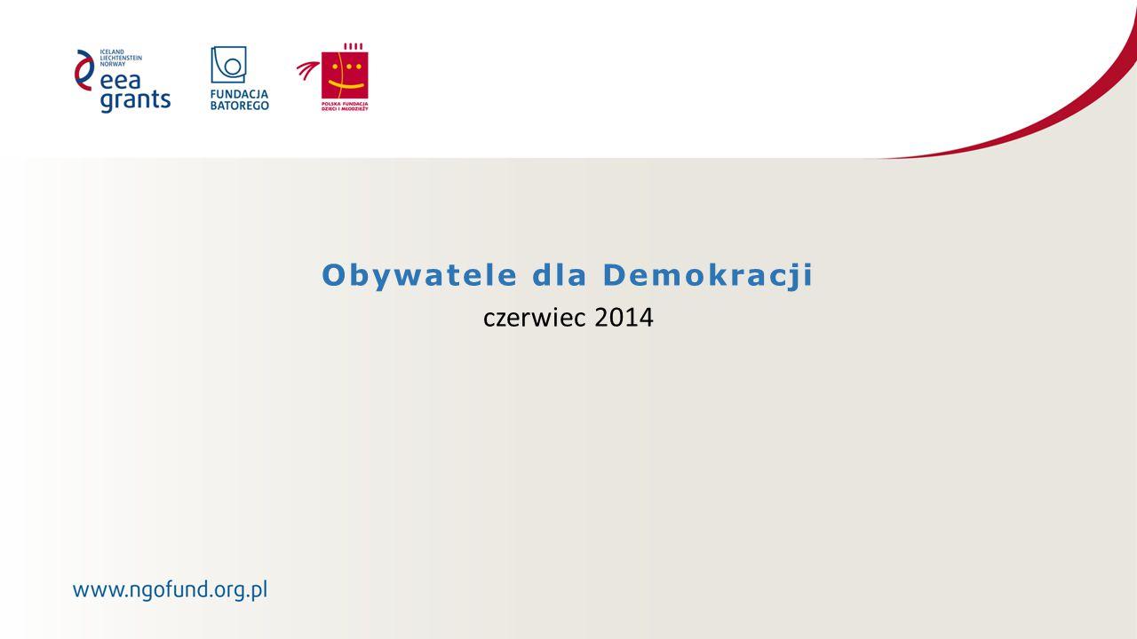 Obywatele dla Demokracji czerwiec 2014