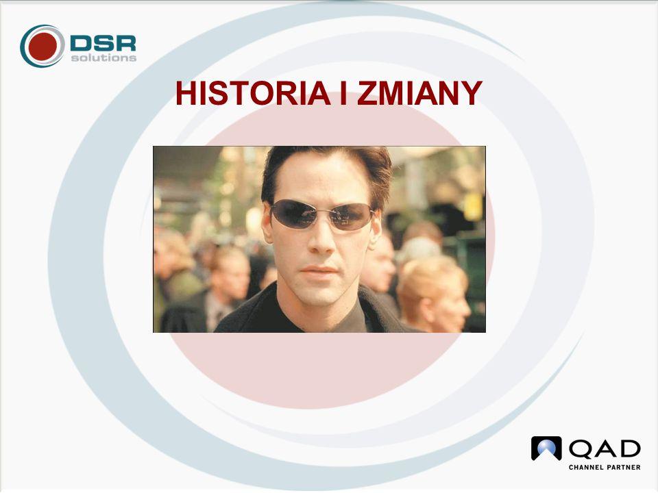 HISTORIA I ZMIANY