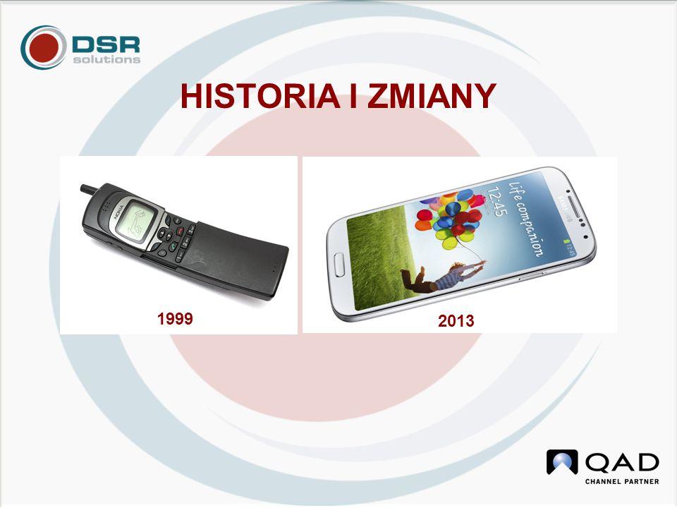 HISTORIA I ZMIANY 1999 2013