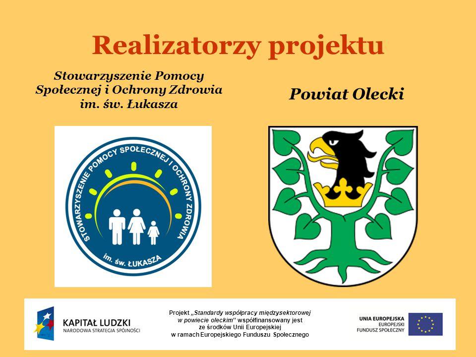 Realizatorzy projektu Stowarzyszenie Pomocy Społecznej i Ochrony Zdrowia im.