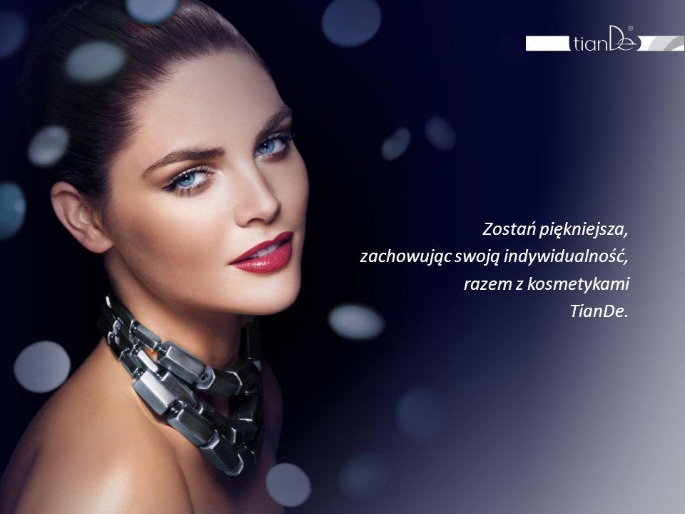 Zostań piękniejsza, zachowując swoją indywidualność, razem z kosmetykami TianDe.