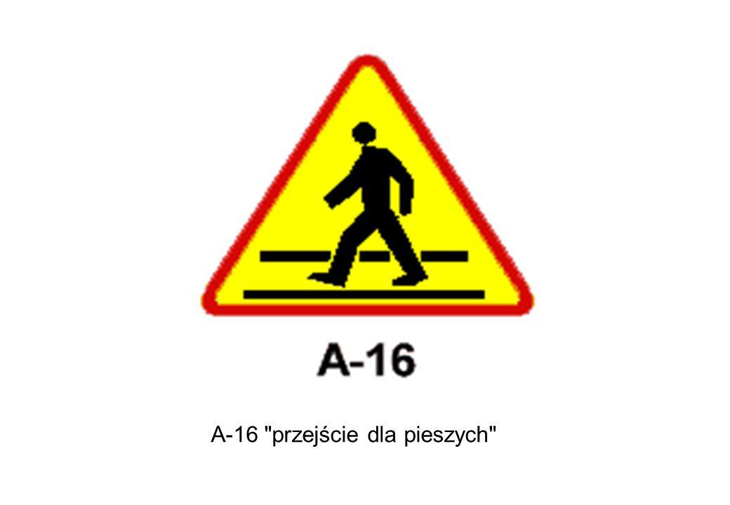 A-16 przejście dla pieszych