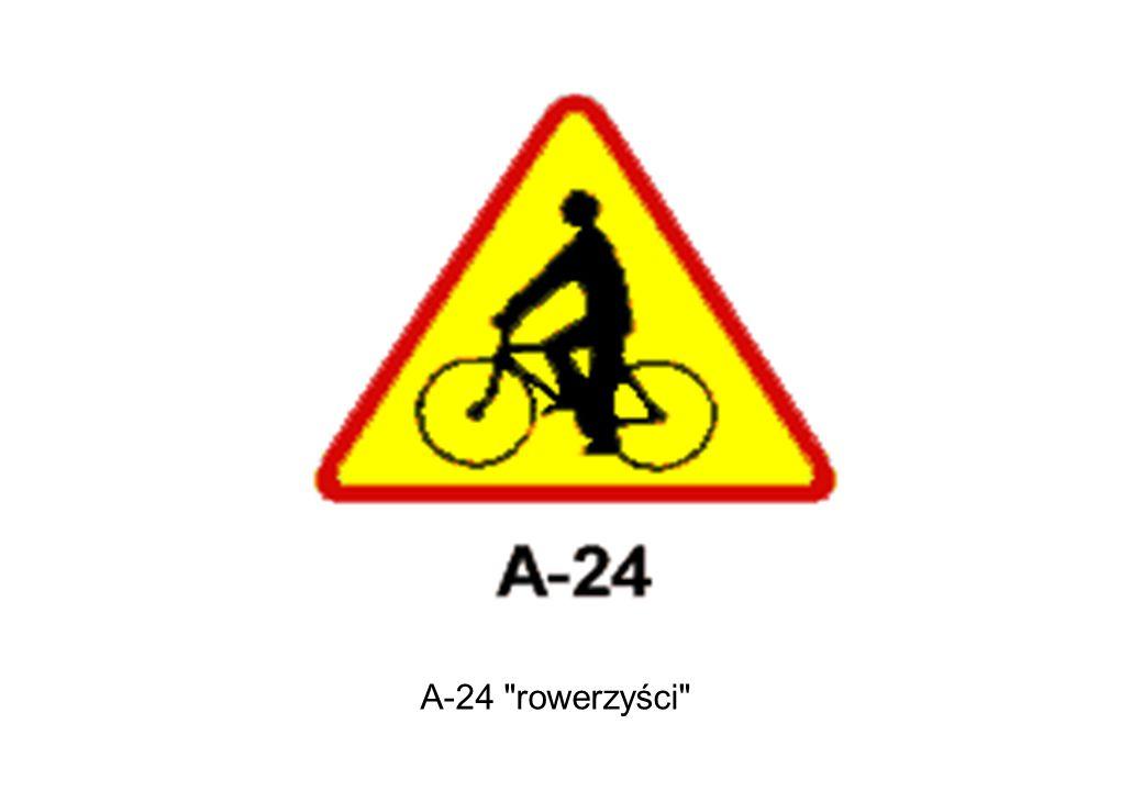 A-24 rowerzyści