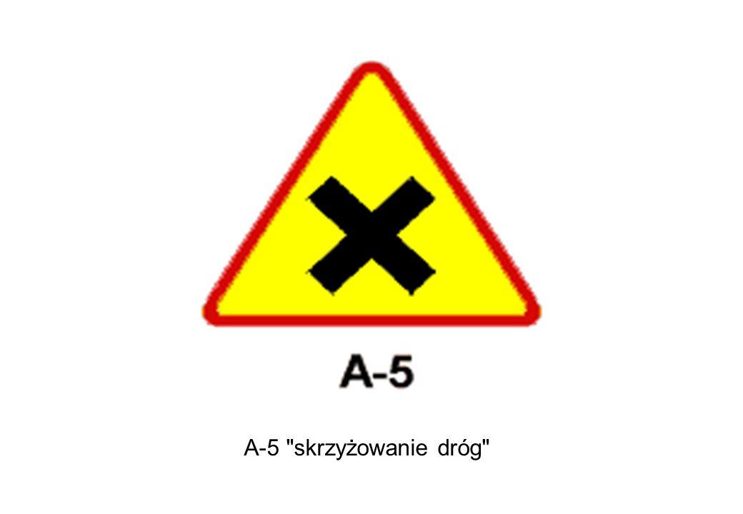 A-5 skrzyżowanie dróg