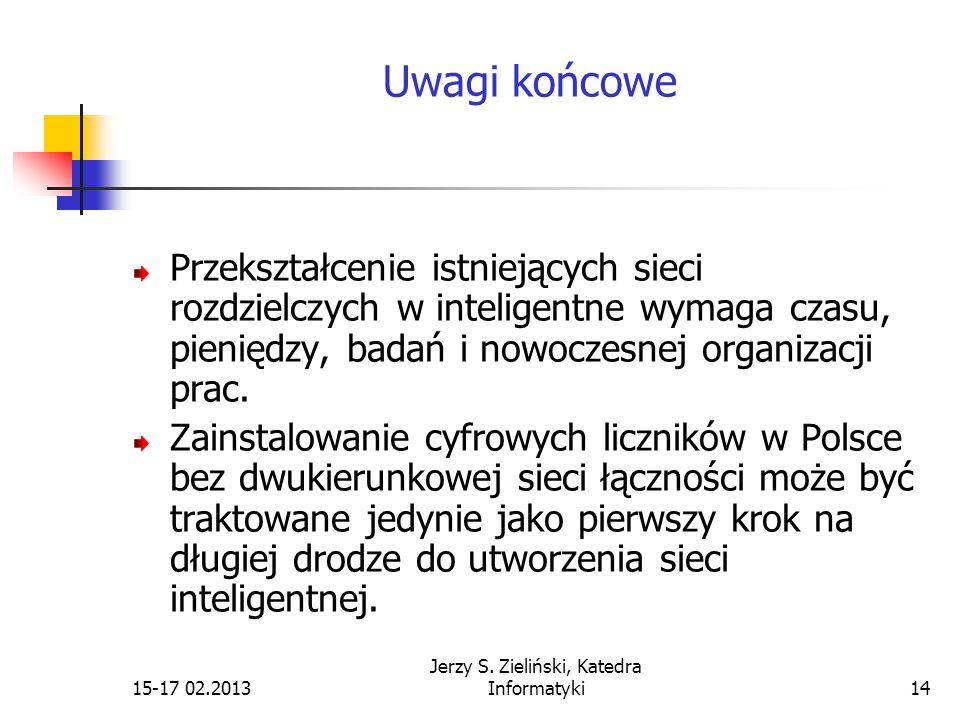 15-17 02.2013 Jerzy S.