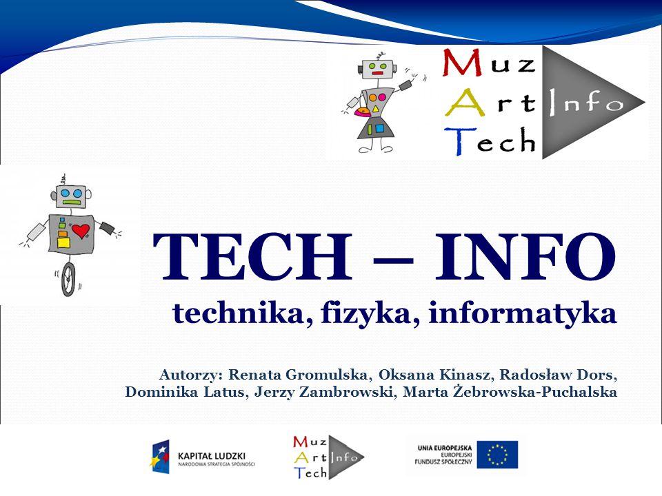 Wdrożenie programu  Program realizowaliśmy w roku szkolnym 2013/2014  Realizacja obejmowała następujące przedmioty: fizyka, zajęcia techniczne i informatyka  Zajęcia odbywały się w: Społecznym Gimnazjum nr 1 Społecznego Towarzystwa Oświatowego w Warszawie