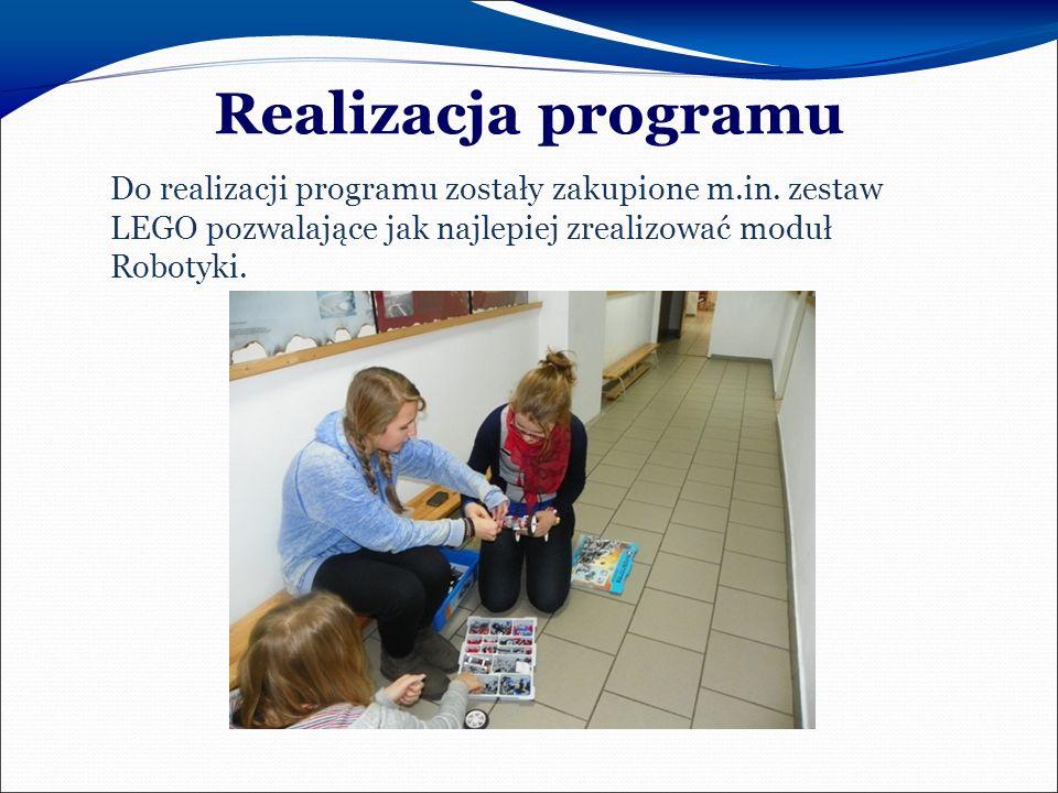 Realizacja programu Do realizacji programu zostały zakupione m.in.