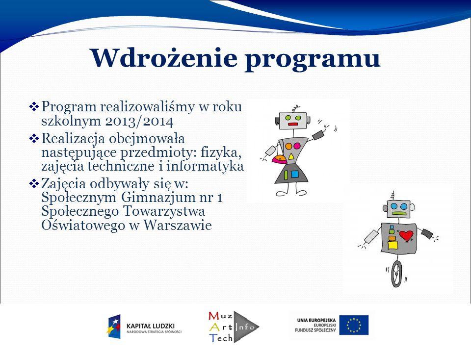 Edukacyjna Wartość Dodana W Społecznym Gimnazjum nr 1 STO na 24 uczniów biorących udział w realizacji programu 20 uzyskało przyrost wiedzy potwierdzony wynikiem badania.