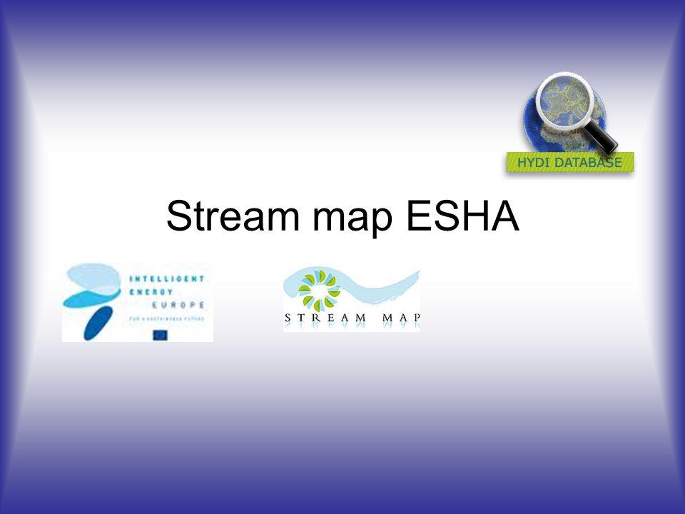 Stream map ESHA