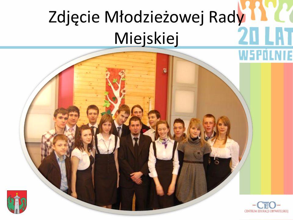 Zdjęcie Młodzieżowej Rady Miejskiej