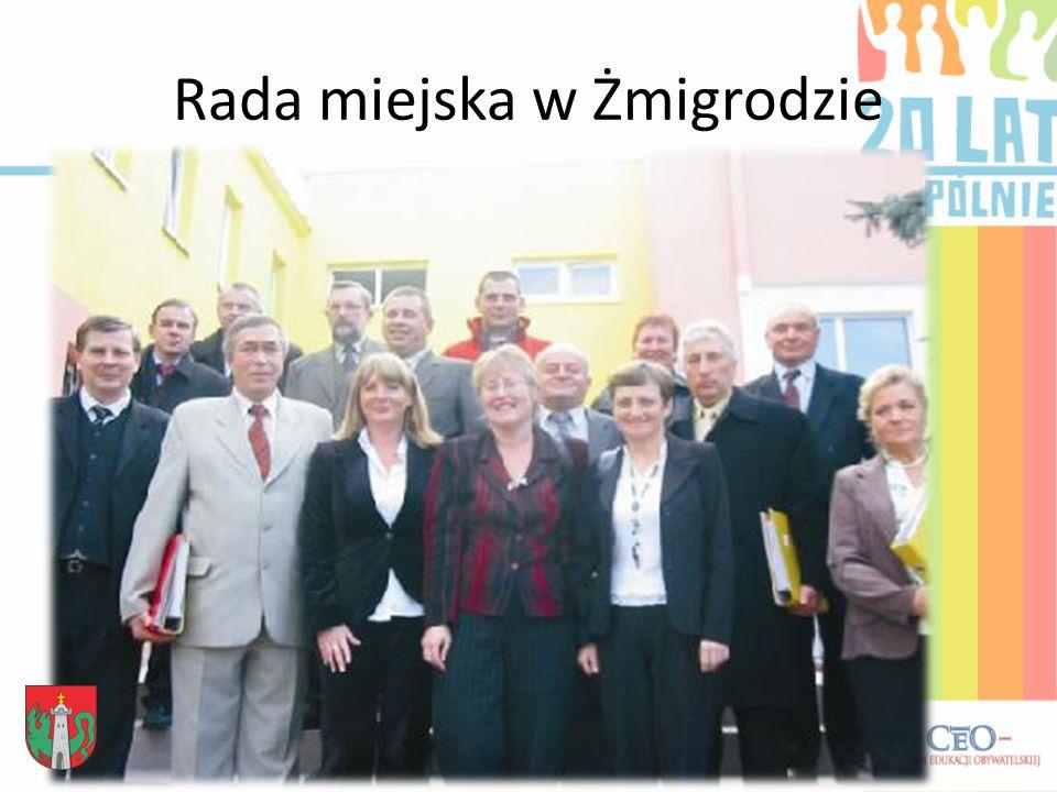 Rada miejska w Żmigrodzie