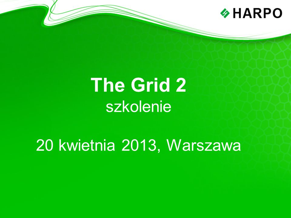 Plan szkolenia: The Grid 2 – najważniejsze informacje o programie The Grid 2 – prezentacja funkcji programu Edycja gotowych plansz Tworzenie nowych plansz i Użytkowników Ćwiczenia