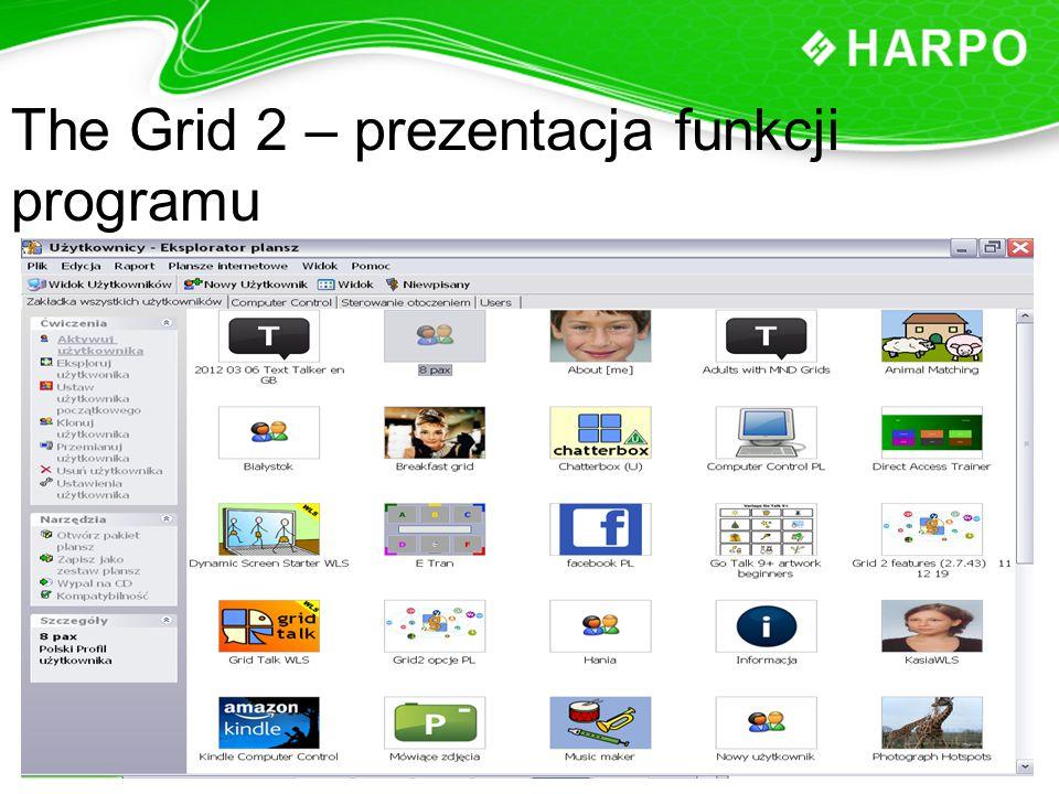 The Grid 2 – prezentacja funkcji programu