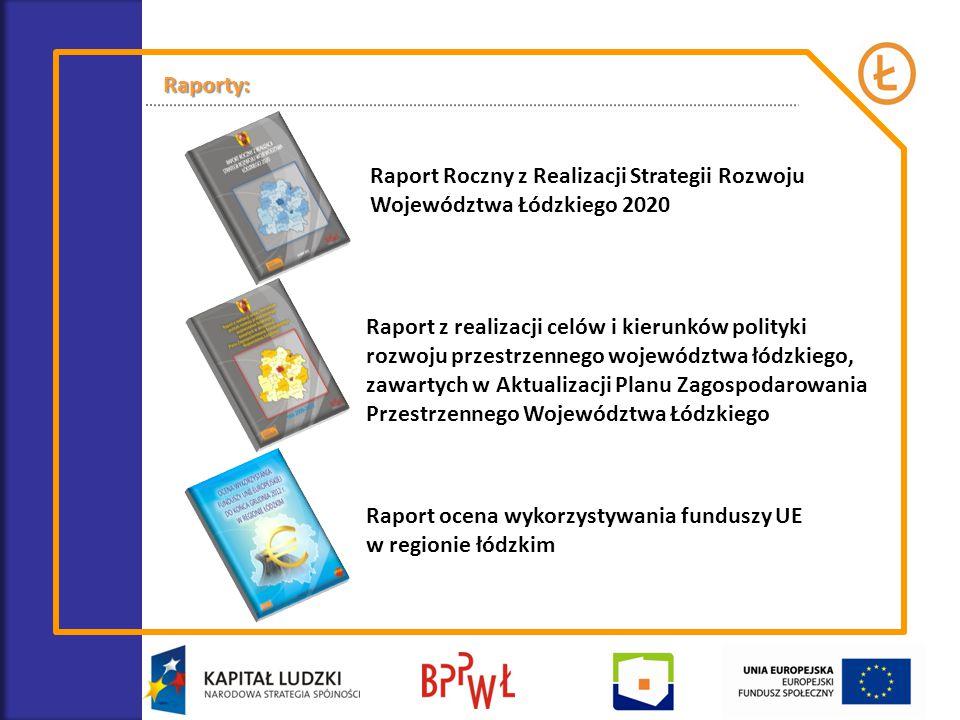 Raport z realizacji celów i kierunków polityki rozwoju przestrzennego województwa łódzkiego, zawartych w Aktualizacji Planu Zagospodarowania Przestrze