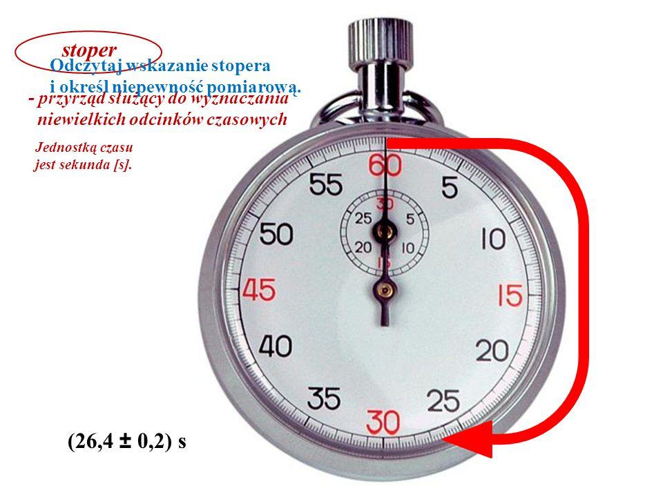 (2,8 ± 0,2) N (0,15 ± 0,05) N siłomierz - przyrząd do pomiaru wartości działającej siły Jednostką siły jest niuton [N].
