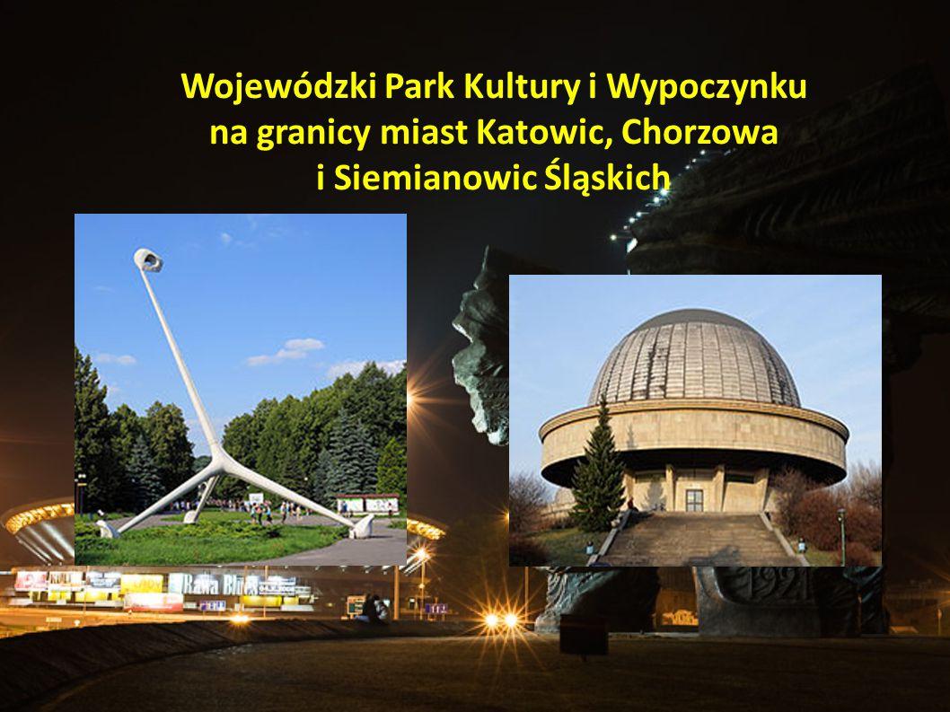Wojewódzki Park Kultury i Wypoczynku na granicy miast Katowic, Chorzowa i Siemianowic Śląskich