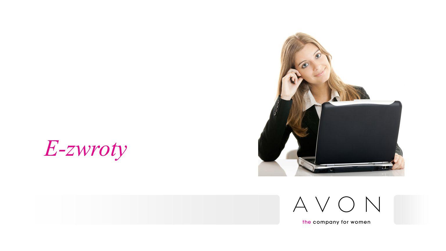 Agenda  Rozwój e-obsługi w Avon: cele  Efektywniejszy proces zwrotów już od 1 lipca  Nowy proces zwrotów z e-formularzem – krok po kroku  Aktualizacja limitu kredytowego o wartość zwrotu  Monitorowanie zwrotów  Dodatkowe informacje  Komunikacja  Pytania i odpowiedzi