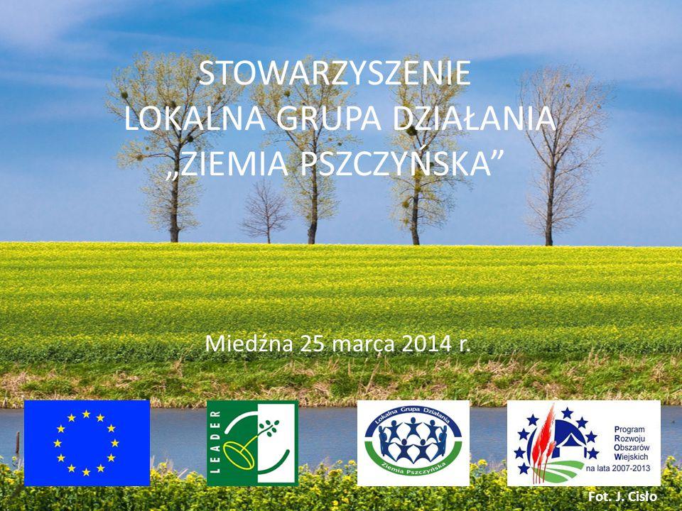 """STOWARZYSZENIE LOKALNA GRUPA DZIAŁANIA """"ZIEMIA PSZCZYŃSKA Miedźna 25 marca 2014 r. Fot. J. Cisło"""