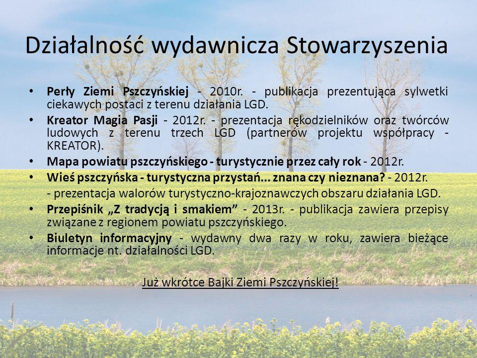 Działalność wydawnicza Stowarzyszenia Perły Ziemi Pszczyńskiej - 2010r.